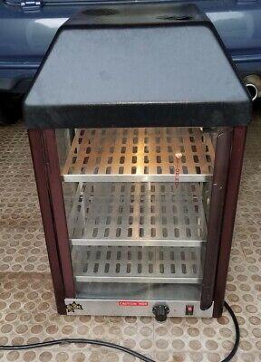 Star 15mcpt 3 Shelf 15 Countertop Heated Food Warmer Retail Display Glass Case