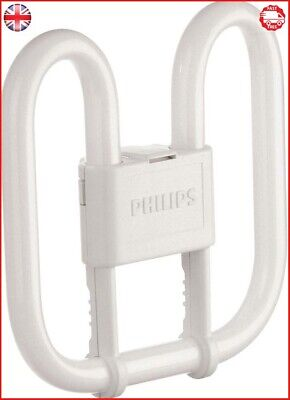 Spiral Pl Compact - Philips PL-Q Compact Fluorescent 2 Pin Light Bulb (GR8 16W) - Warm White