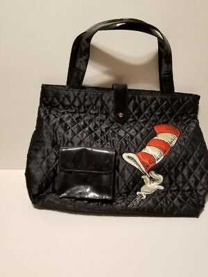 Dr Seuss Tote Bags (Dr. Seuss Cat in the Hat quilted Tote Travel Bag)
