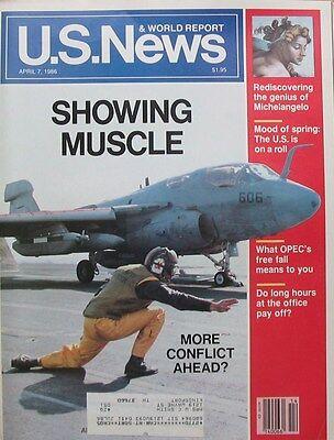 Us News   World Report Magazine April 7 1986