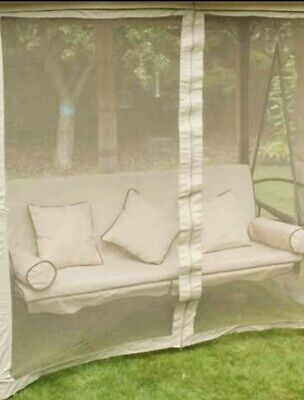 3 Seater Gazebo Swing Bed Curtain Replacement