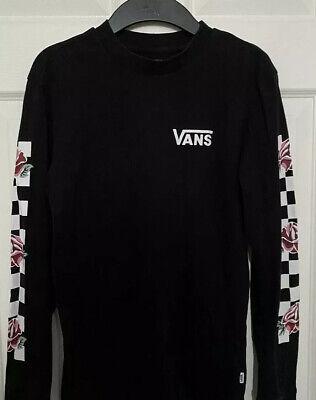 VANS Black Top. Xs/s.