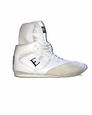 EVERLAST Ultimate Pro Boxing Boots Boxerstiefel Boxschuhe Blue ELM-94A Shoes