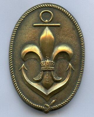 Hungary Scout Marine Member Badge Pin RARE Nice Grade !!!