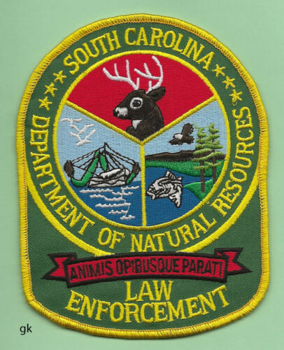 SOUTH CAROLINA DNR NATURAL RESOURCES LAW ENFORCEMENT POLICE  PATCH