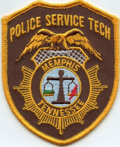 MEMPHIS TENNESSEE TN Police Service Tech POLICE PATCH