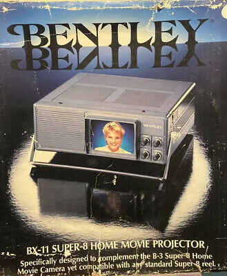BNIB OLD STOCK VTG Bentley BX-11 Super-8 Home Movie Projector w/Manual & BOX, used for sale  Shipping to South Africa
