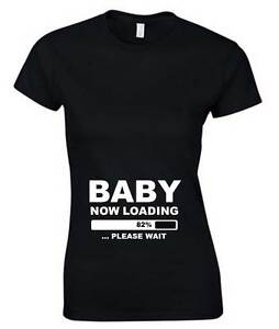 baby now loading ladies t shirt 6 16 black white printed. Black Bedroom Furniture Sets. Home Design Ideas