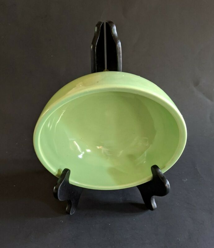 HAEGER Pottery BOWL Lime Green USA #670