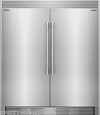 Frigidaire PRO Stainless Refrigerator Freezer Combo & Trim FPRU19F8RF FPFU19F8RF