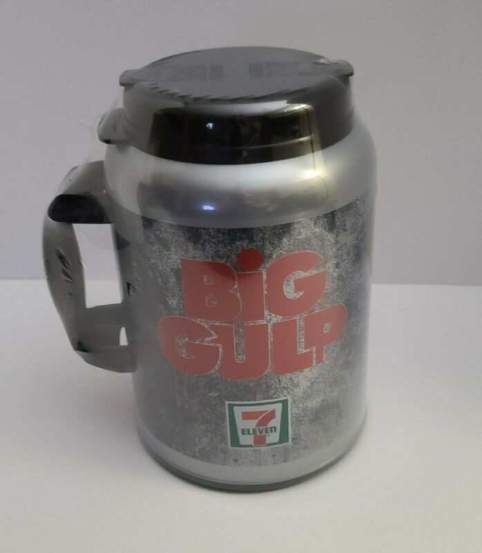 New 7 Eleven Big Gulp Mug Whirley Insulated Cup 100 oz  Sealed 7-11 711 Huge