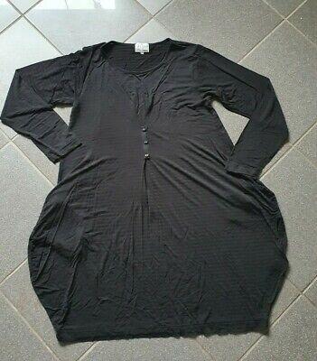 r L  schwarz (Jersey-kleid)