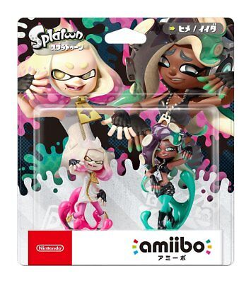 Splatoon 2 Off The Hook Amiibo Figure Pearl Marina Nintendo 3Ds Amibo Tentacool