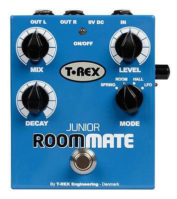 T REX Room-Mate Junior - 4 Mode Reverb Guitar Effects Pedal / Stomp Box