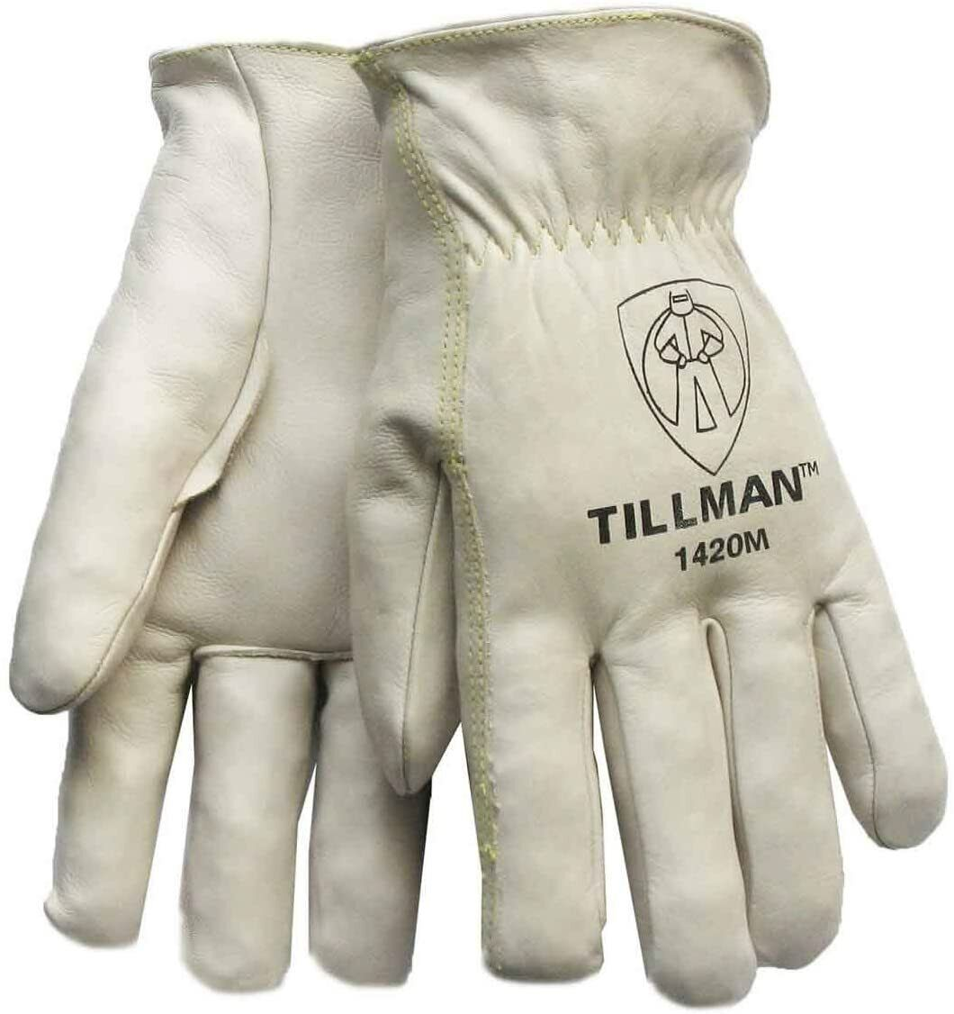"""Tillman 1420 Top Grain Grade """"A"""" Cowhide Drivers Gloves Sizes Small-2XLarge Business & Industrial"""