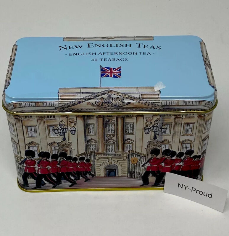 Buckingham Palace Quality English Afternoon Tea 40 Teabags In Aluminum Container