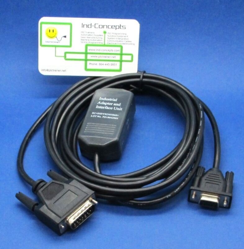 GE Fanuc SNP PLC Programming Cable 90/30 90/70 Micro Serial  IC690ACC901
