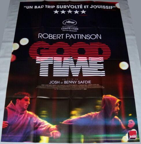 GOOD TiME   Ben & Joshua Safdie Robert Pattinson Jason Leigh LARGE french POSTER