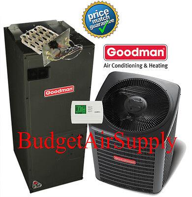 3 Ton 13 prophet 410a Goodman  A/C System GSX130361+ARUF37C14+Heat Strip+TStat+++
