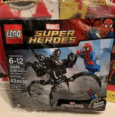 New Lego Polybag ~ Marvel Super Heroes 30448 Spider-Man Vs The Venom Symbiote