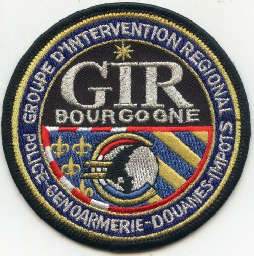 FRANCE BOURGOGNE REGIONAL POLICE PATCH