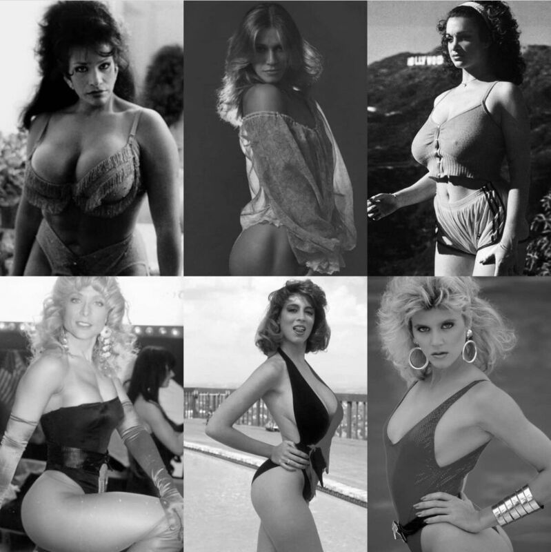 Porno Stars From Years Ago - A Collage !!!