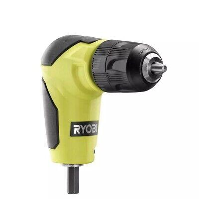 Ryobi A10raa1 38 Chuck Right Angle 90 Degree Drill Attachment Brand New