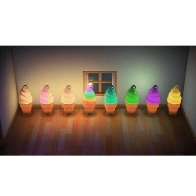 Animal Crossing Soft Serve Lamp Full SET 8 COLORS LED light ACNH