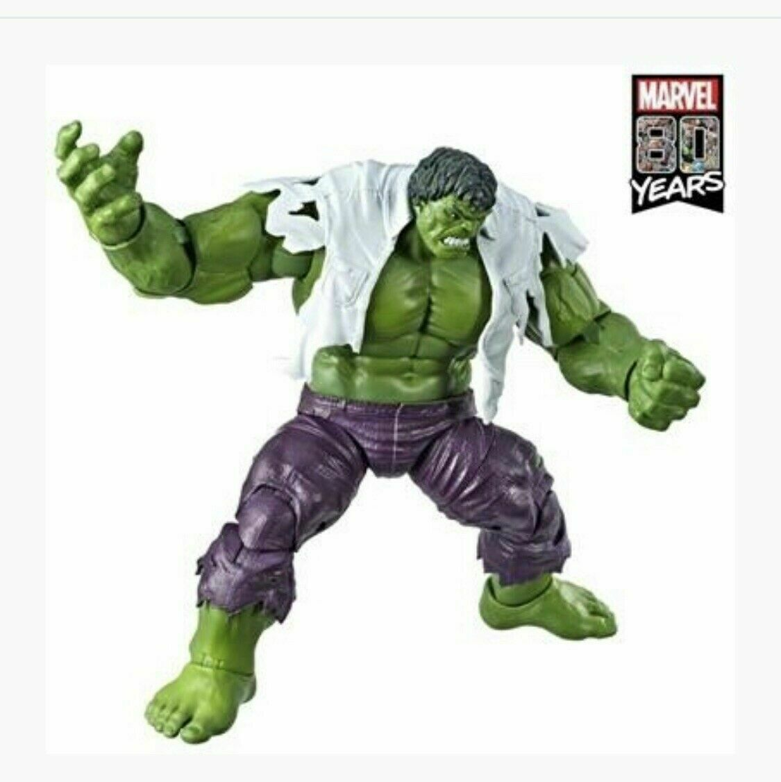 Wolverine seulement Ici Marvel Legends 80th Anniversaire Hulk 2 Pack Action Figure