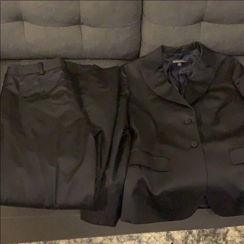 Dark Navy Brooks Brothers Suit - size 8