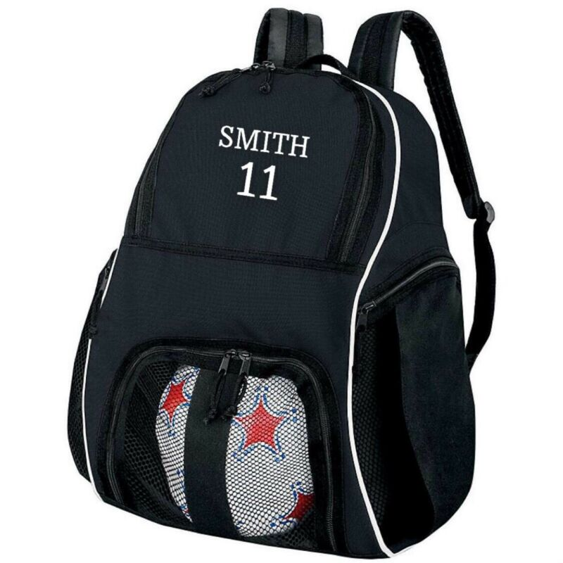 PERSONALIZED SOCCER BACKPACK EQUIPMENT BACKPACK