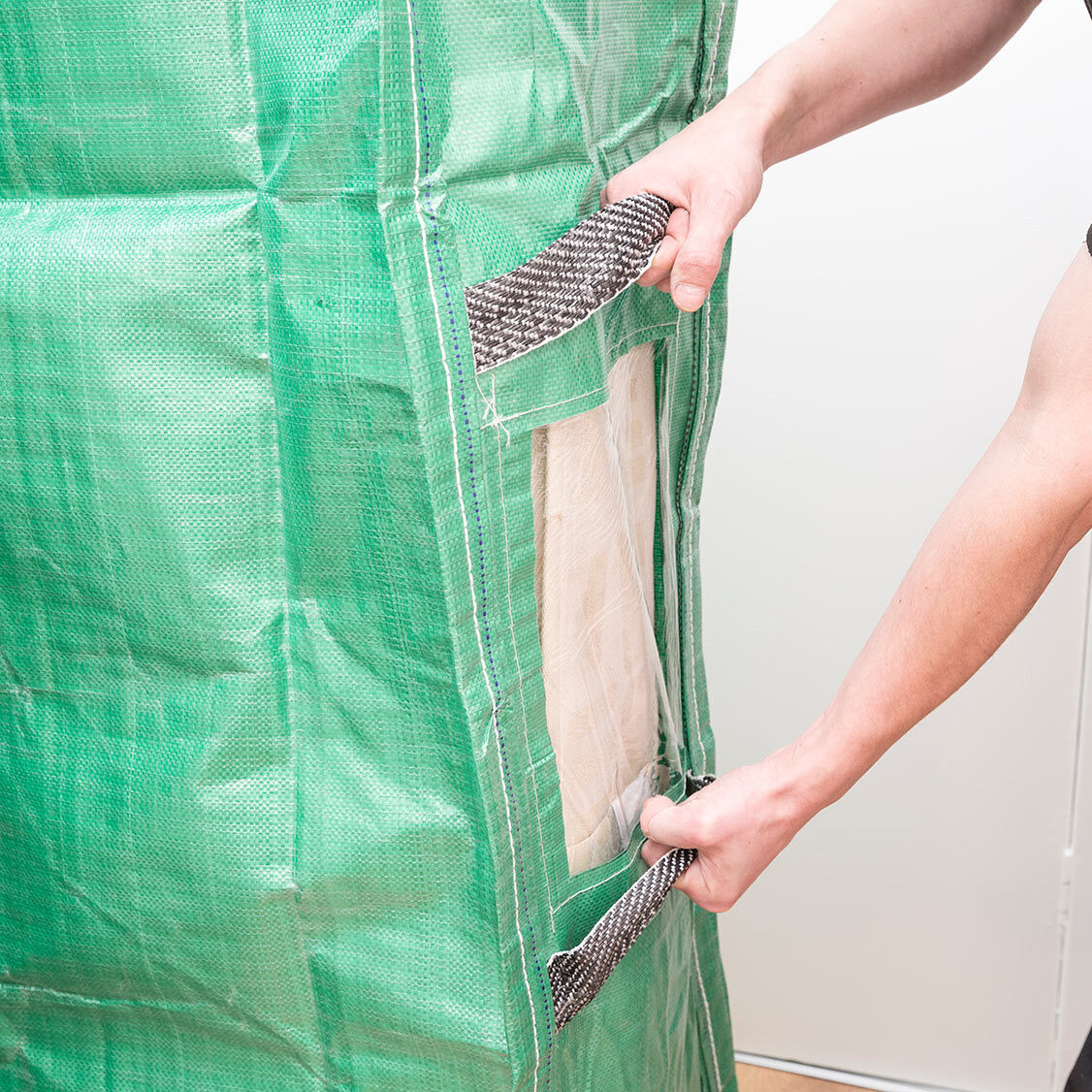 Heavy Duty Protective Mattress Bags Handles Moving