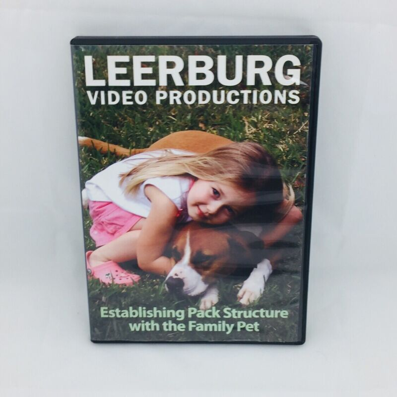 Establishing Pack Structure With The Family Pet DVD 2007 Leerburg Video