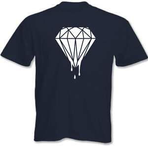 Dripping-Diamond-Mens-T-Shirt-Dope-Swag-Hipster-Tumblr