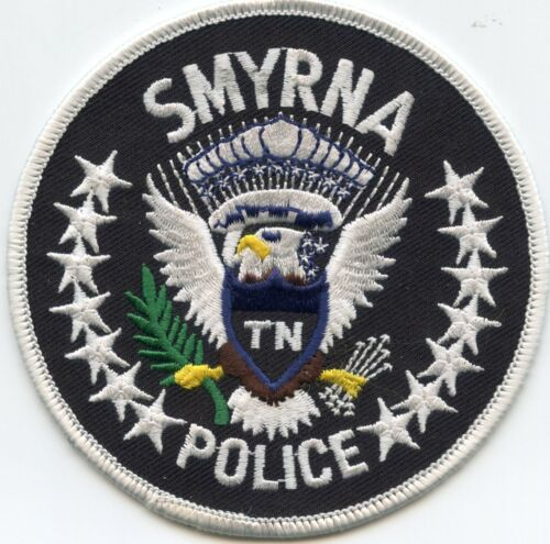 "SMYRNA TENNESSEE TN ""TN in Shield"" POLICE PATCH"