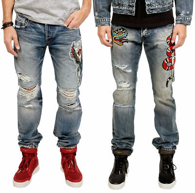 Cult of Individuality Japanese Selvedge Greaser Jeans - Men's 30x34 - New w/Tags](Greaser Jeans Mens)