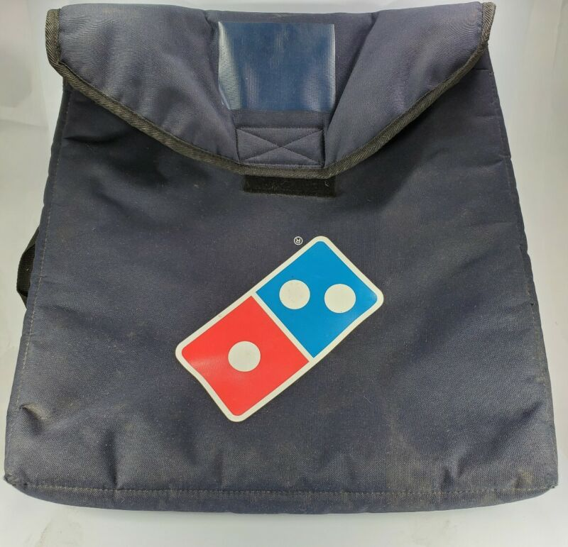 Dominos Heat Wave pizza hot Delivery Warm Insulated Thermal Large delivery bag