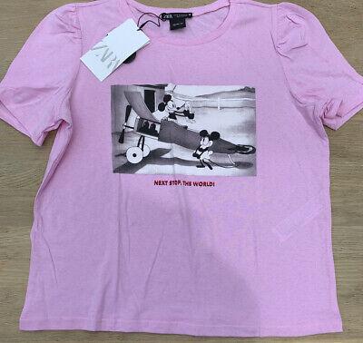 Pink Zara Disney T-shirt M