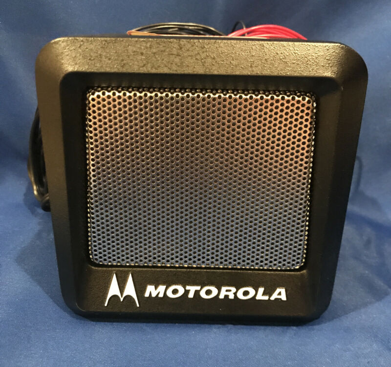 New Motorola MARATRAC Power Voice Speaker YSN4007A W/ Mounting Bracket/ Hardware