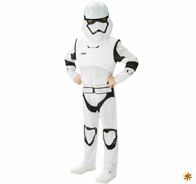 Kinder Kostüm Star Wars Stormtrooper ep. VII deluxe 5-9 Jahre Filmheld - Vii Stormtrooper Kostüm
