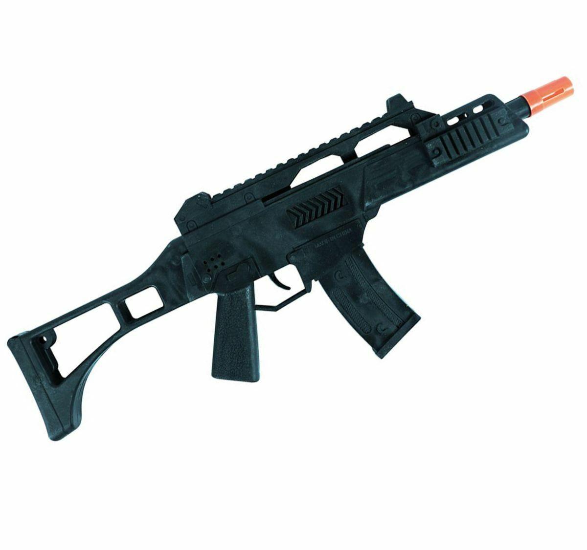 Spielzeug Maschinengewehr Sturmgewehr mit Sound 40 cm lang Kostüm-Zubehör