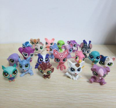 5X Hasbro Littlest Pet Shop Collection LPS Mini Baby Figure Loose Toys Animals