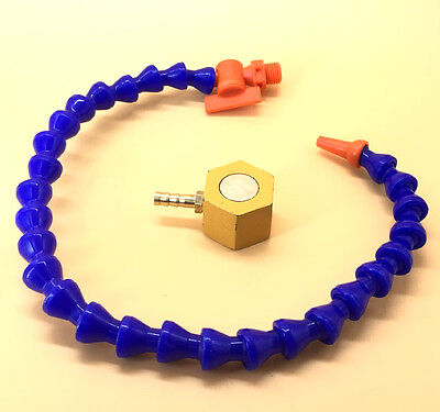 Small Magnetic Base With Valve Coolant 14 Hose For Milling Sn-t