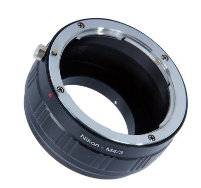 Nikon F/AI Lens Mount Adapter to fit Micro Four Thirds 4/3 Camera Body Lenses