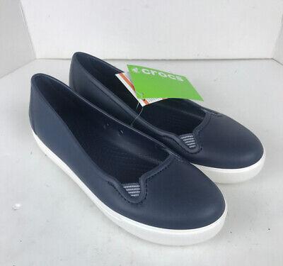 Womens Crocs Citilane Roka Slip-On Shoes Size 8. Navy NEW WITH (Roka Shoes)