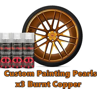 Dyc Performix Plasti Dip Pearl Burnt Copper Alloy Aerosol Spray Cans X3 Free Sh
