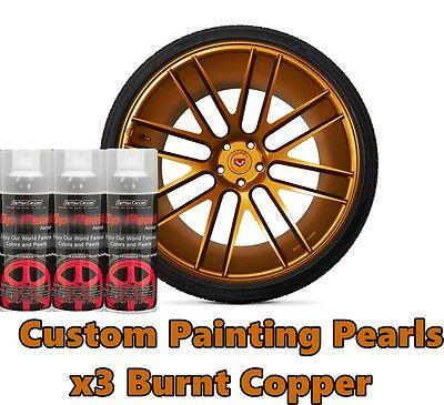 Dyc Performix Plasti Dip Pearl Burnt Copper Alloy Aerosol Spray Cans X3 Free Sh