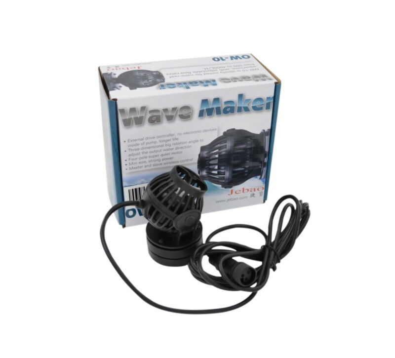 Jebao OW-10 Wave Maker Flow Pump with Controller for Marine Reef Aquarium OW10