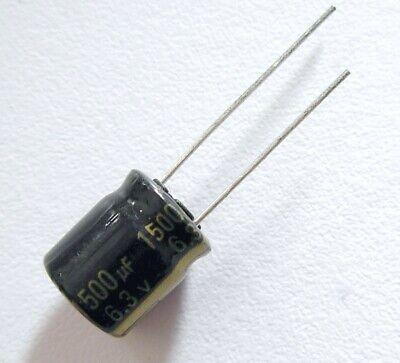 Condensateur PANASONIC 6.3V 1500uF Aluminium High Quality Capacitor 12x10mm