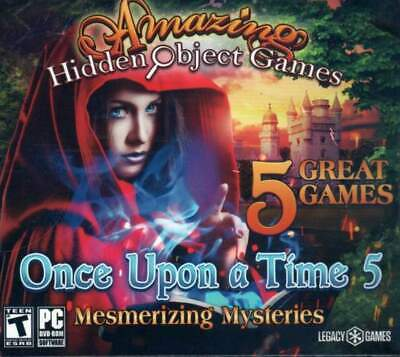 Computer Games - Amazing Hidden Object Games Once Upon A Time 5 PC Window 10 8 7 XP Computer game